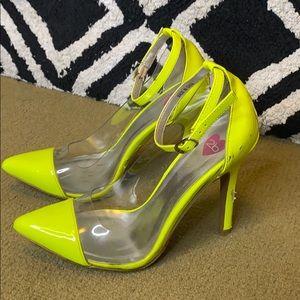 Bebe Neon Heels